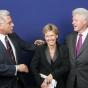 Nimrod Kovacs with Bill Clinton